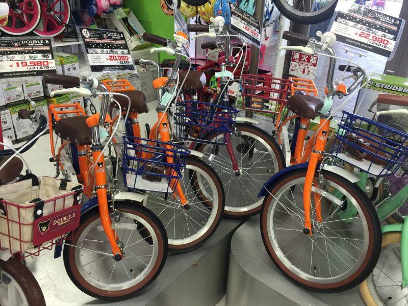 ミキハウスの子供用自転車