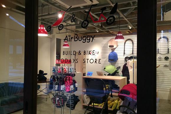 AirBuggyの期間限定ストア 画像