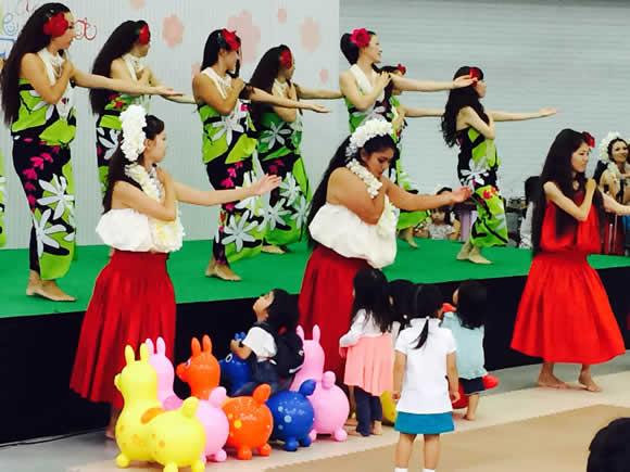 リトル・ママフェスタ 2014 東京 フラダンスサークルだよ