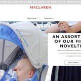 マクラーレンのベビーカーが正規で買えるのは「blossom39」と「Amazon」だけと公式回答