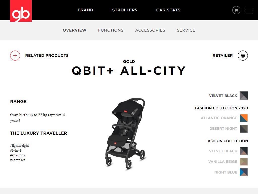 gb Gold Qbit+ All-City